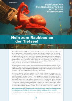 Publikationscover das in der oberen Hälfte einen Oktopus der sich auf einen Unterwasserroboter legt. In der unteren Hälfte beginnt der Text.