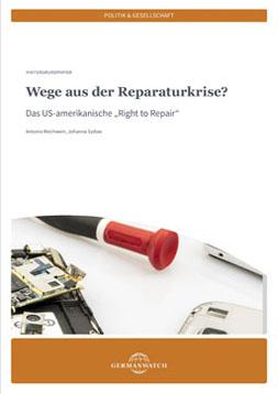Publikationscover: Ausschnitt eines Tisches auf dem Werkzeug und ein zu reparierendes Elektro-Kleingerät liegt.
