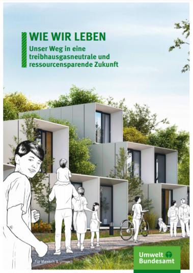 Häuser und Menschen, Titel: Wie wir leben Unser Weg in eine treibhausgasneutrale und ressourcensparende Zukunft